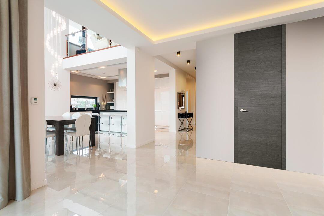 Porta de Interior Dekordor® 3D Grey