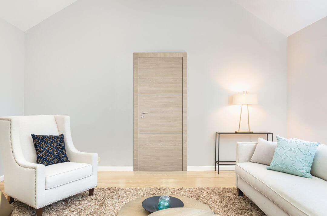 Porta de Interior Dekordor® 3D Carvalho