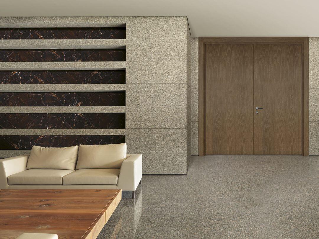 Porta de Interior Naturdor® Stained Toffee Brown