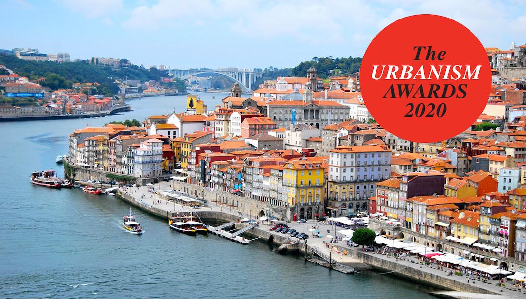 Porto é declarado Cidade Europeia do Ano nos Prémios do Urbanismo 2020