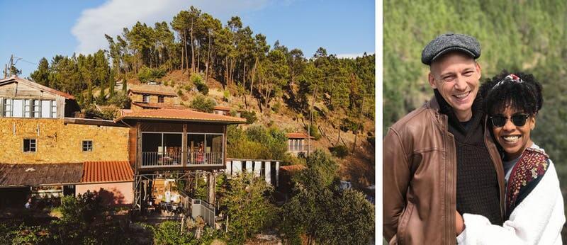 Vale de Moses Meditation Cabins . Portugal