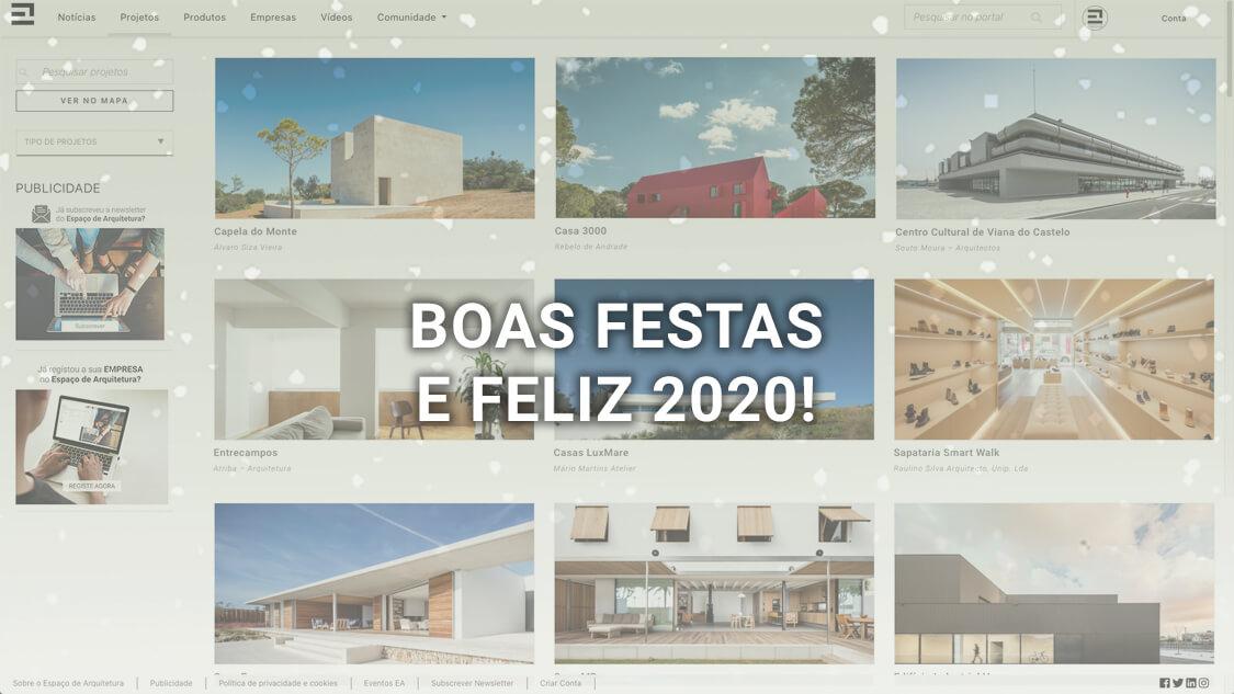 Boas Festas e Feliz 2020!