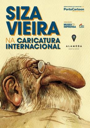 """Exposição """"Siza Vieira na Caricatura Internacional"""""""