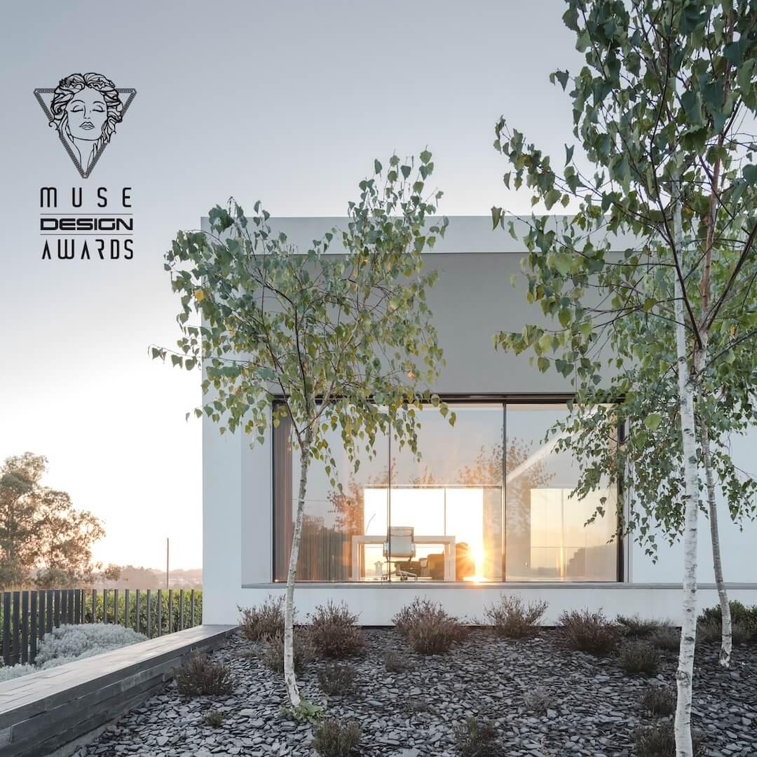 Arquiteto Raulino Silva  premiado nos MUSE DESIGN AWARDS
