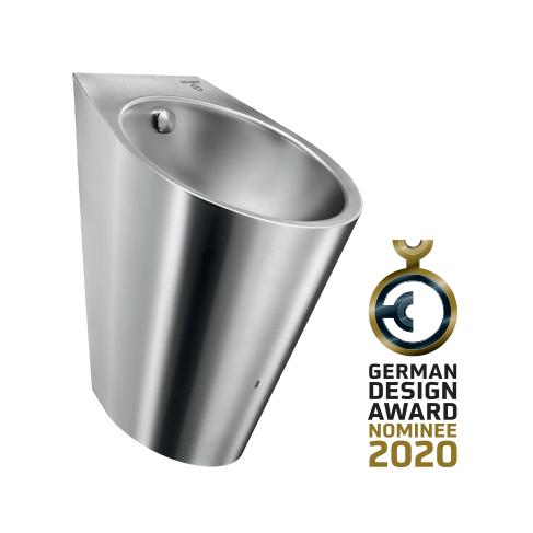 Urinol Inox híbrido da Delabie nomeado para o German Design Award 2020