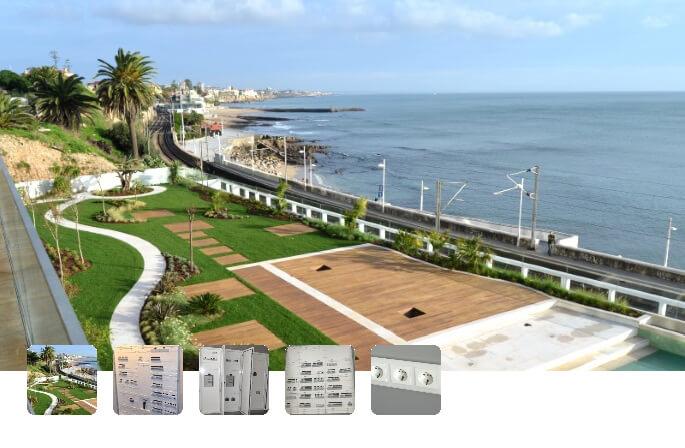 Soluções Hager: Atlantico Estoril Residence