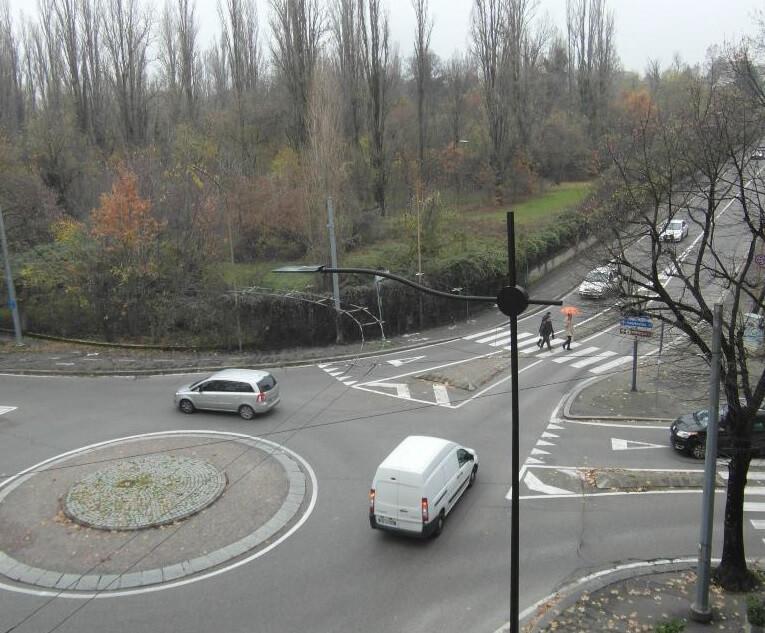 Complexo escolar em Parma