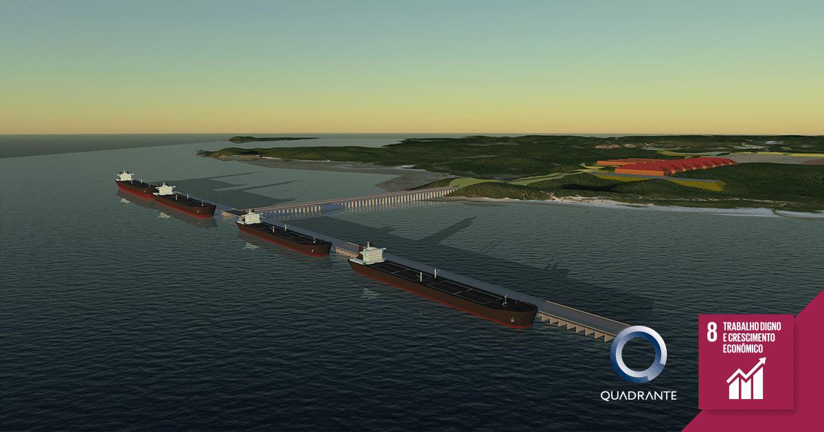 Grupo Quadrante desenvolve Estudos para criar Importante Terminal Portuário no Brasil