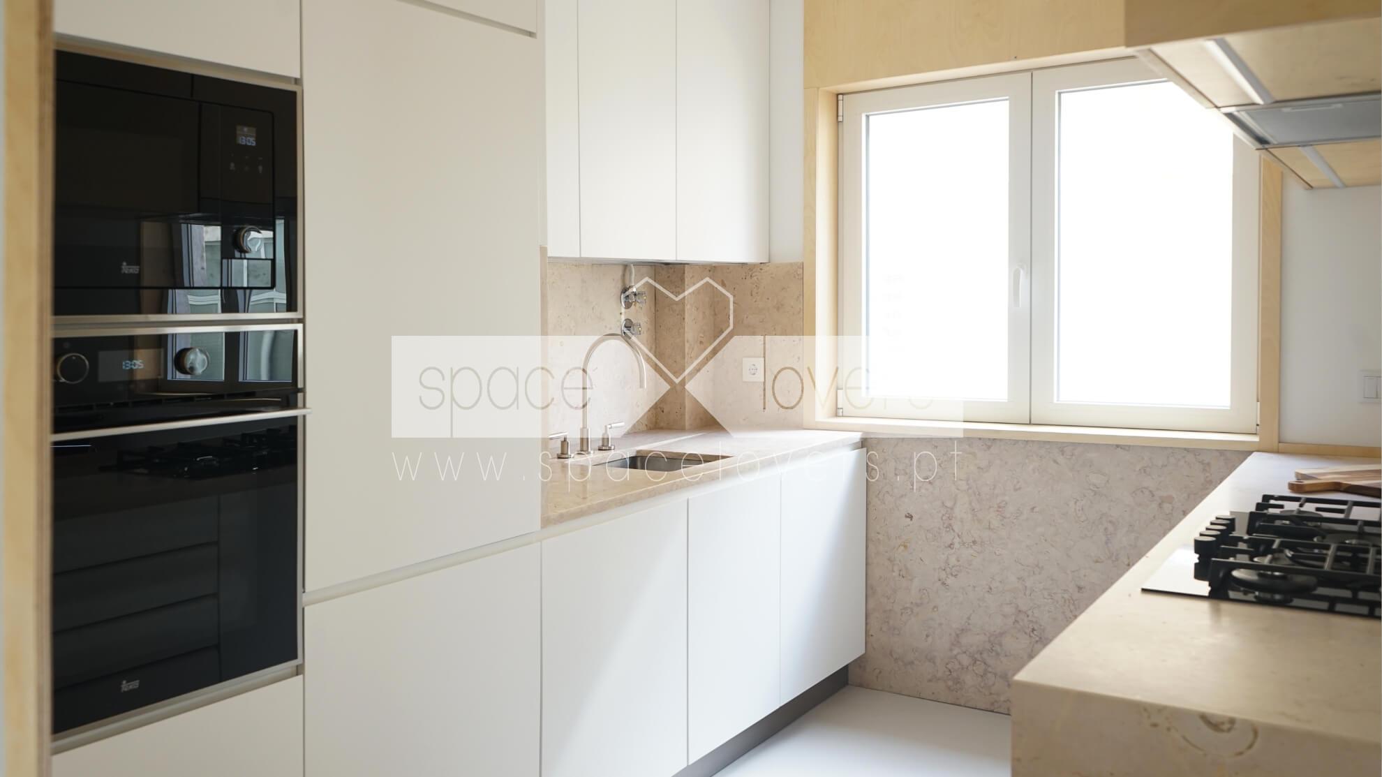 Projeto de Arquitetura - Remodelação de apartamento em Alcântara