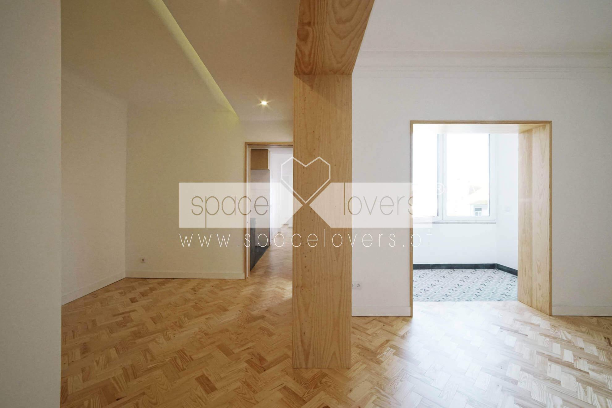 Projeto de Arquitetura - Remodelação de apartamento na Penha de França
