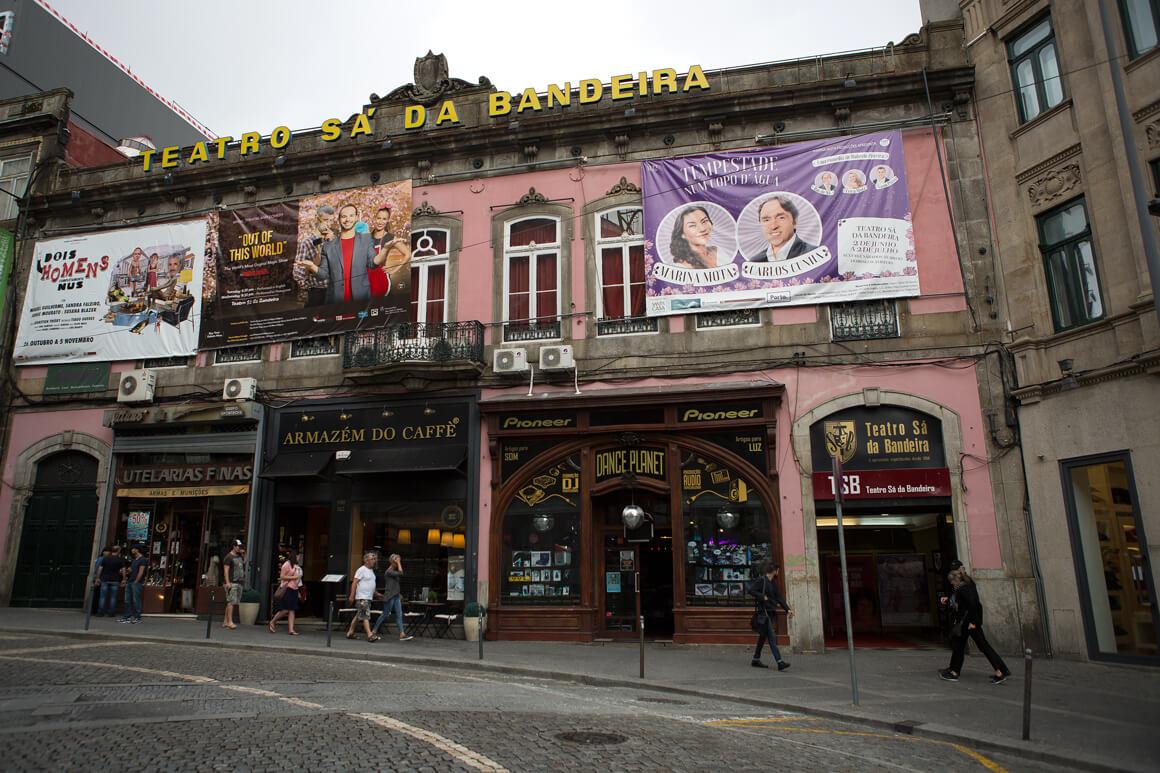 Teatro Sá da Bandeira já é oficialmente Monumento de Interesse Público