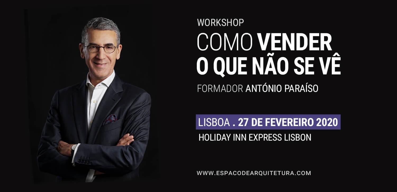 Workshop . Como Vender o Que Não Se Vê . Lisboa