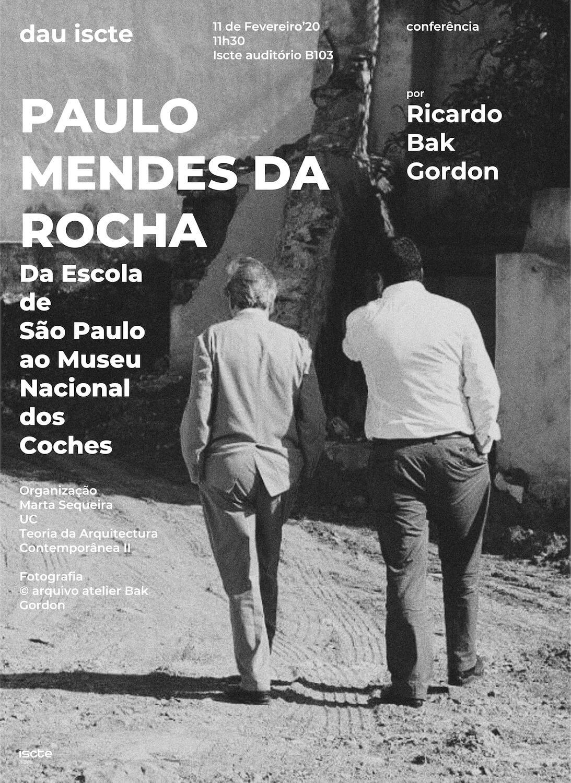 Conferência Ricardo Bak Gordon