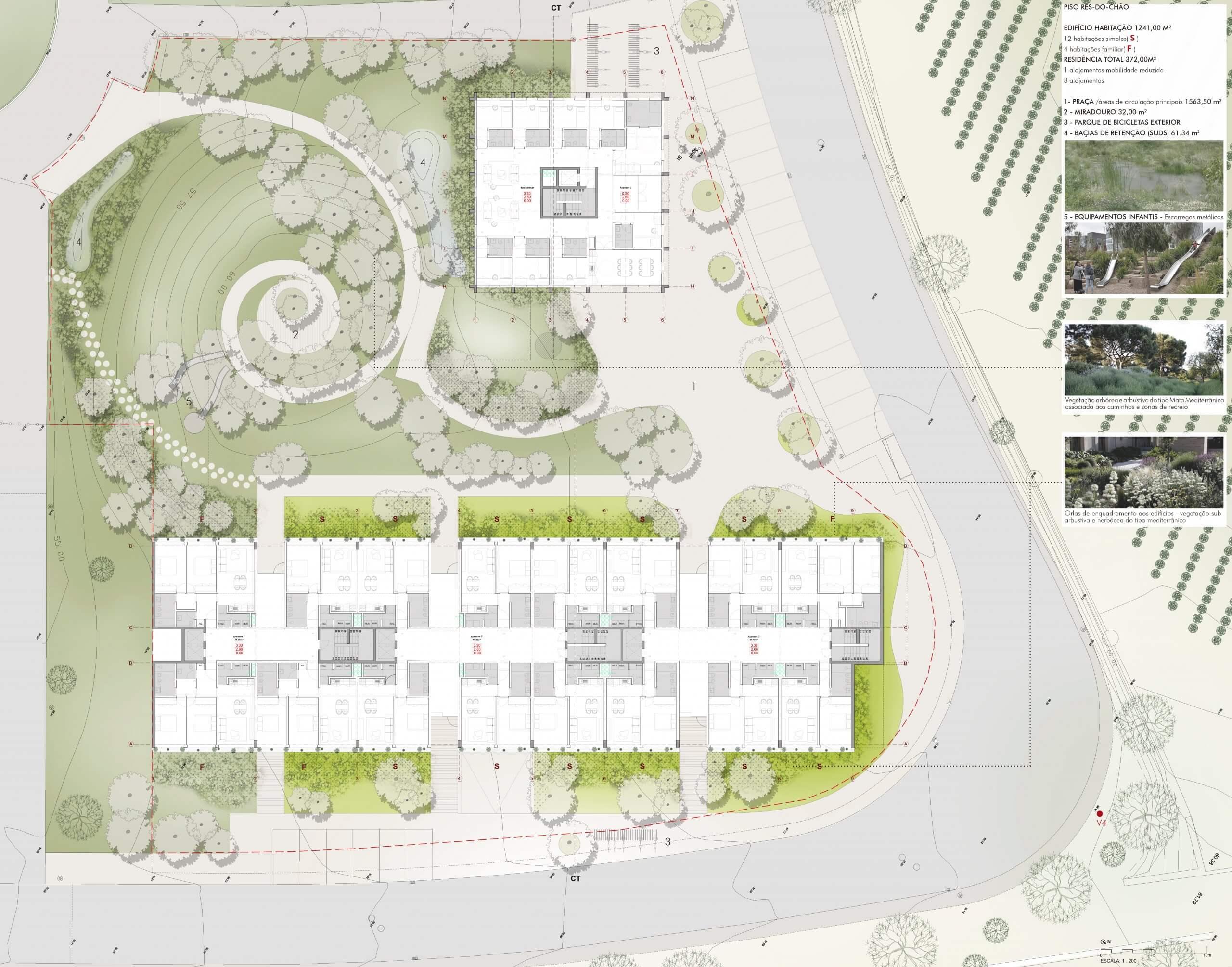 Concurso projeto municipal de habitação em Carcavelos