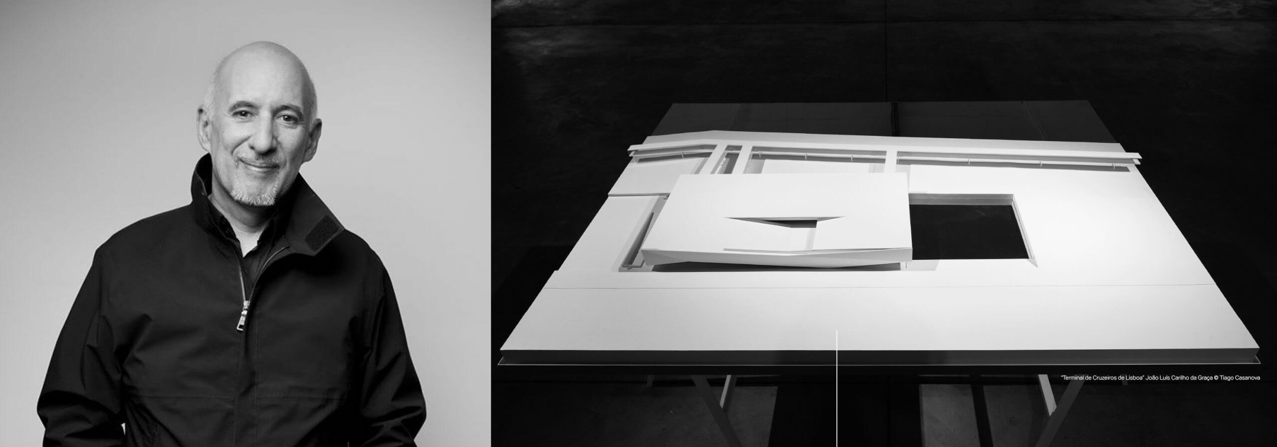 Arquiteto Carrilho da Graça incorpora acervo de mais de 40 anos de trabalho na Casa da Arquitectura