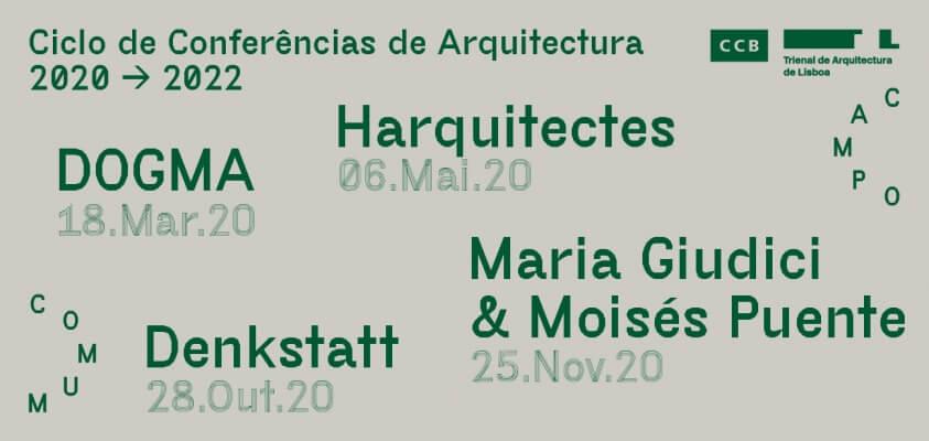 Ciclo de Conferências Arquitetura 2020–2022