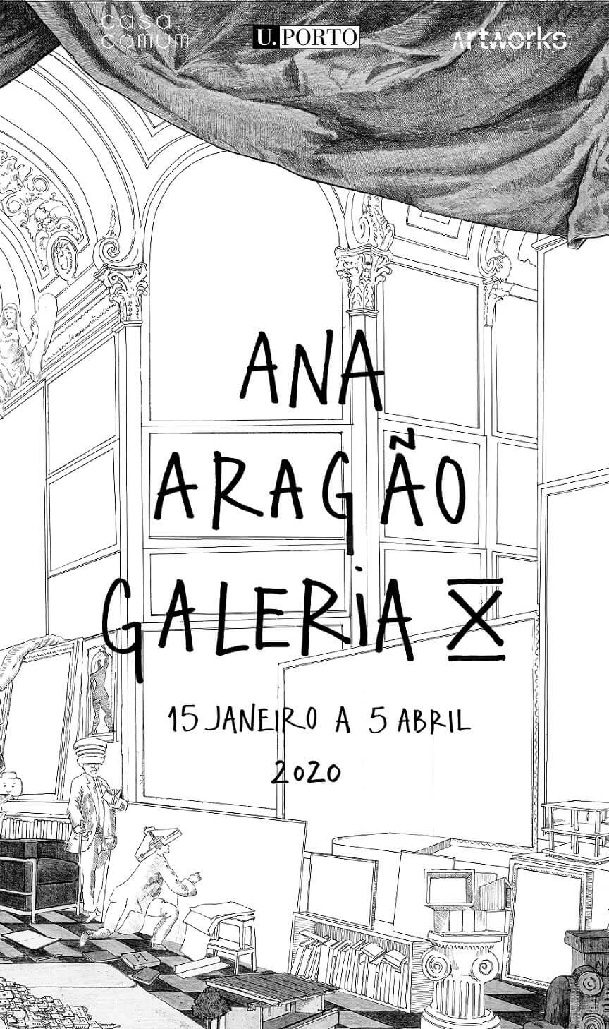 Exposição de Ana Aragão – Galeria X