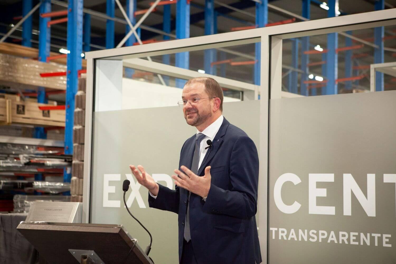 Inauguração do Expert Center para a Envolvente Transparente do Edifício