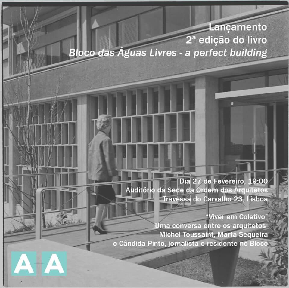 Lançamento 2ª Edição Bloco das Águas Livres – a perfect building