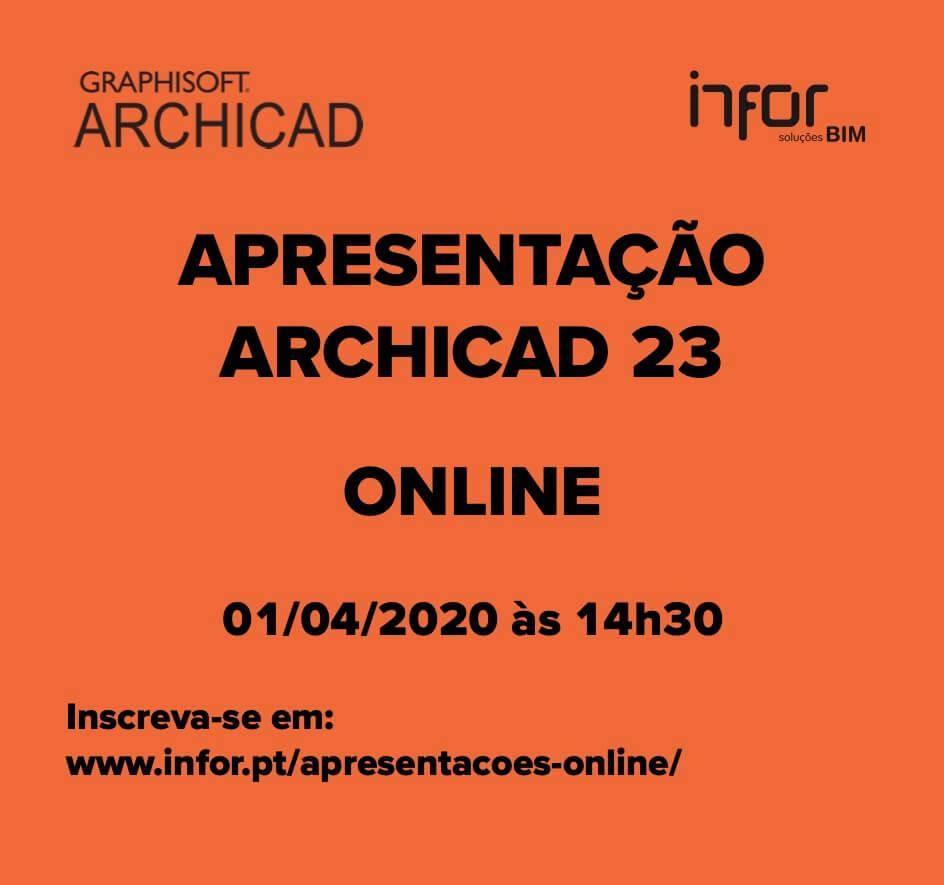Apresentação Online do ARCHICAD 23