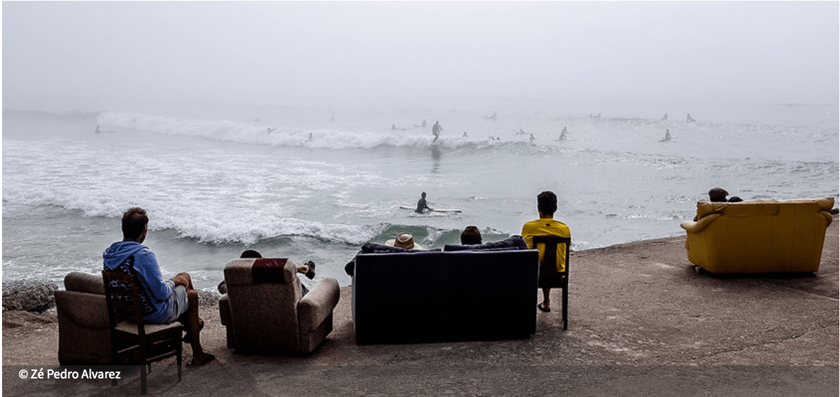 Exposição de Arquitetura . O Mar É a Nossa Terra
