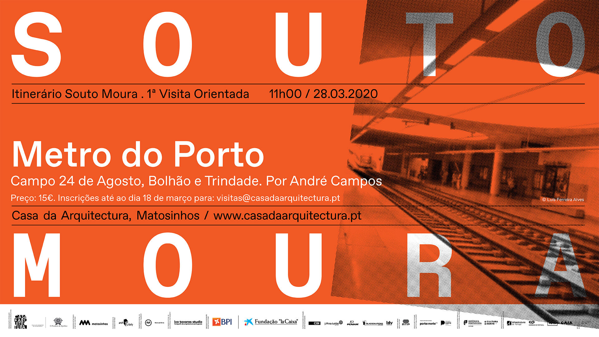 Itinerário Souto de Moura: oito visitas a 15 obras