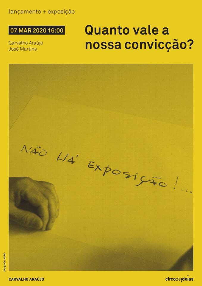 Lançamento e Exposição pelo Atelier Carvalho Araújo