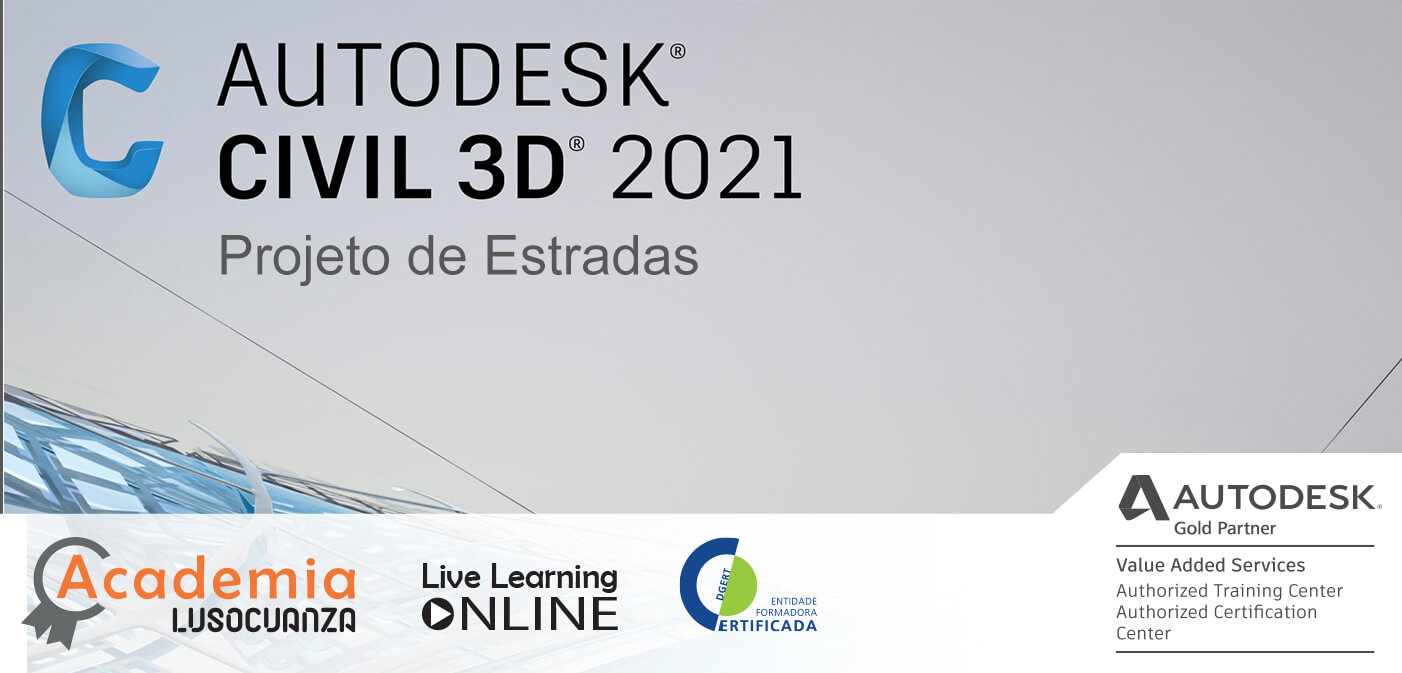 Curso E-Learning – Civil 3D Projeto de Estradas