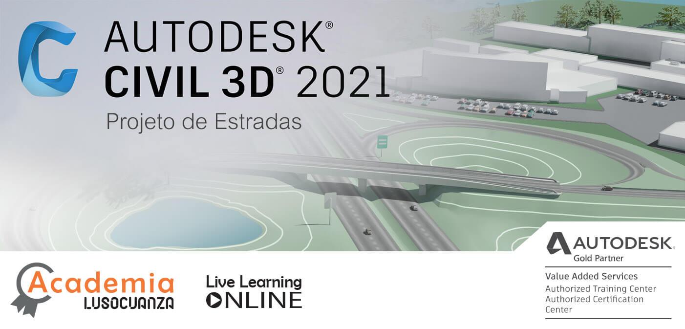 Curso Live Learning – Civil 3D Projeto de Estradas