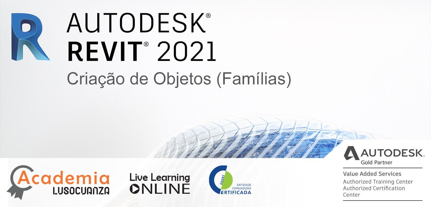 Curso E-Learning – Autodesk Revit. Criação de Objetos (Famílias)