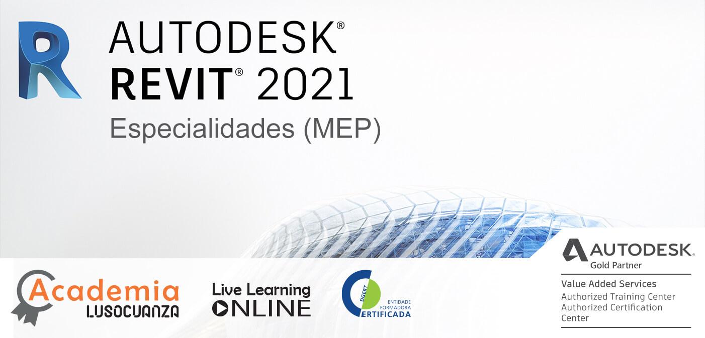 Curso E-Learning – Autodesk Revit para Especialidades (MEP)