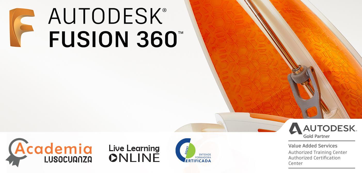 Curso E-Learning – Autodesk Fusion 360