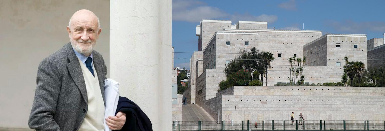 Morreu Vittorio Gregotti, coautor do CCB com Manuel Salgado