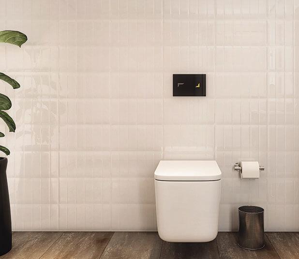 Casa de banho: Placa de comando TRIBE para autoclismo