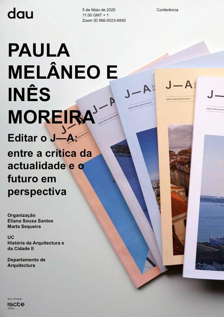 Conferência de Paula Melâneo e Inês Moreira