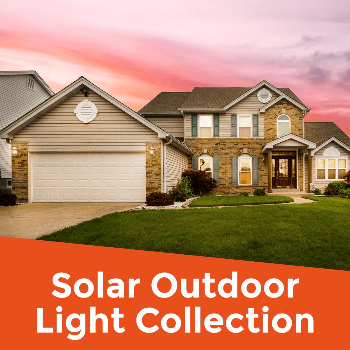 Solar Outdoor Light Collection