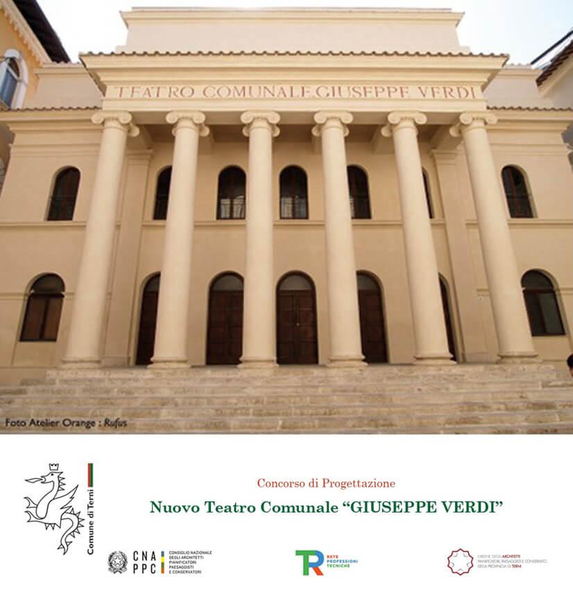 Reabilitação do teatro Giuseppe Verdi em Terni – Itália