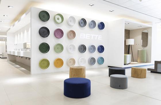 A marca alemã BETTE é representada em Portugal pela DIVITEK Arch & Design Brands
