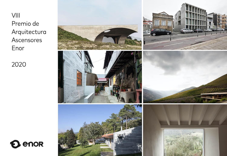 Projetos portugueses finalistas do prémio de Arquitectura Ascensores Enor 2020
