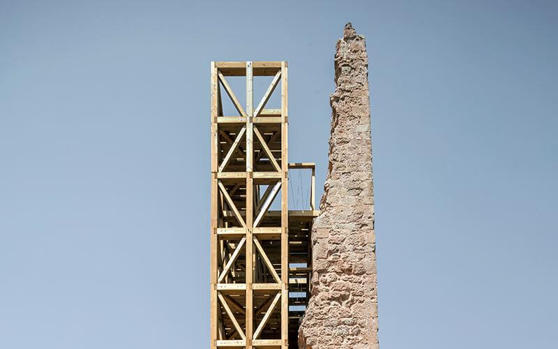 4. RECUPERACIÓN DE LA TORRE DE MEROLA Carles Enrich Studio Barcelona