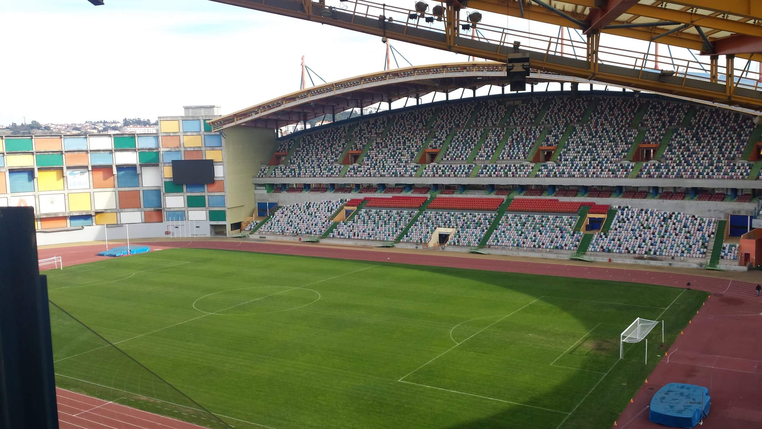 Alves & Rasteiro . Medidas de Autoproteção . Estádio de Leiria