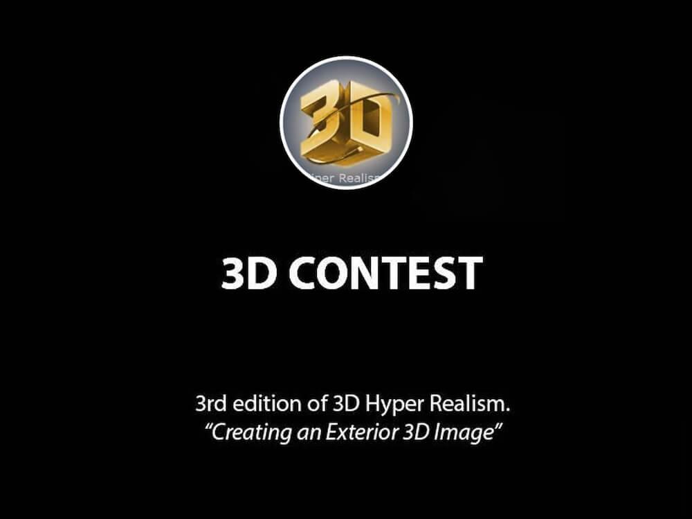 3º Concurso 3D Hiper-Real