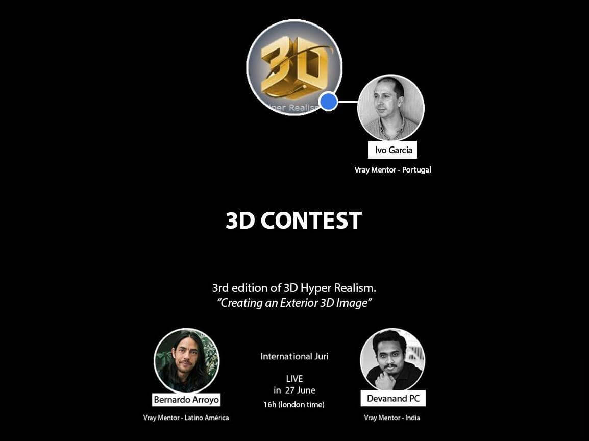 3DHR: Divulgação do vencedor do Concurso 3D Hiper-Real