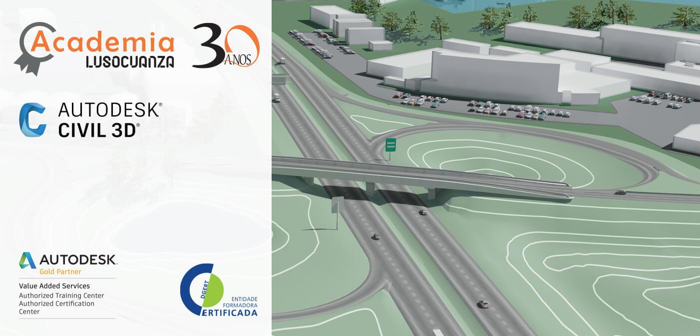 Curso Civil 3D Projeto de Estradas (49 horas)
