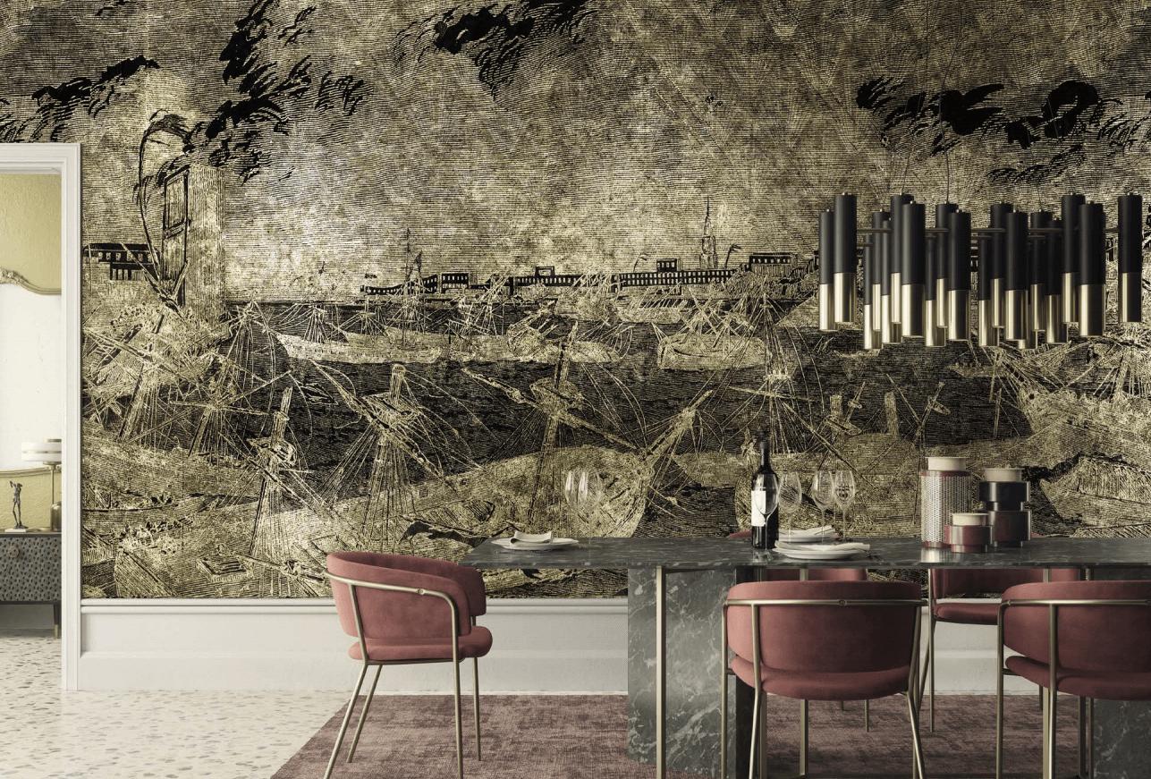 Golden Wall 2020 - Inkiostro Bianco