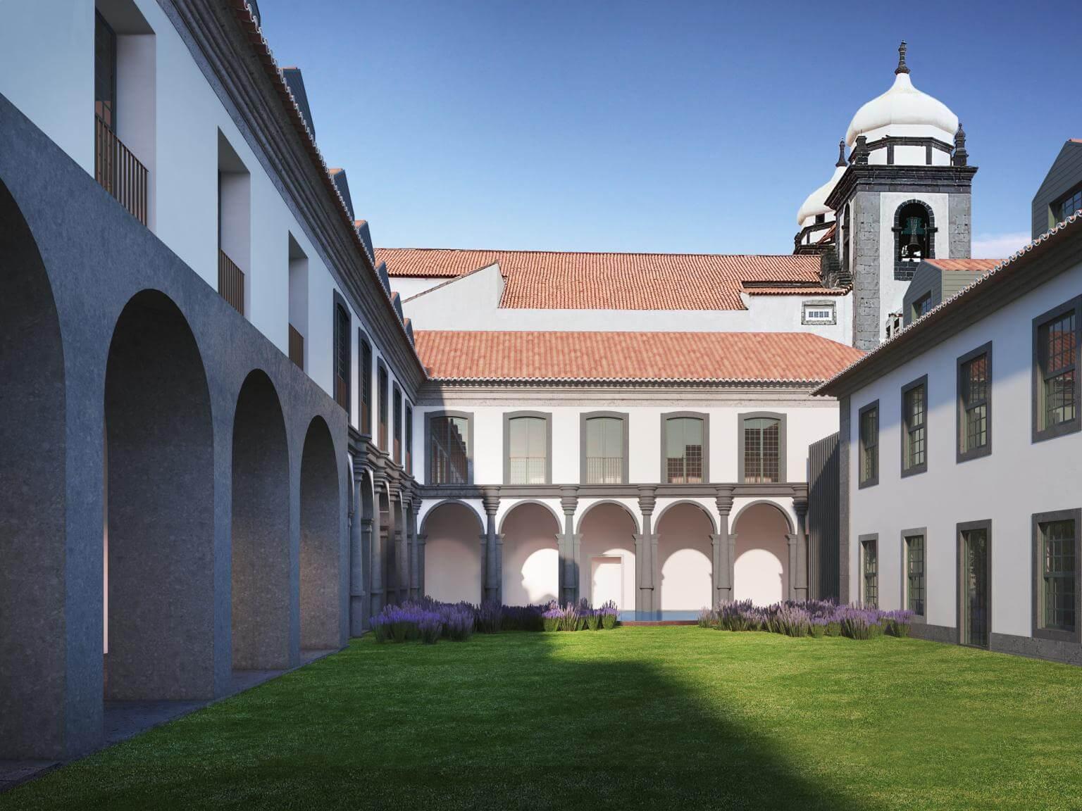 PROMONTORIO Arquitectos desenvolve projeto de reabilitação e renovação do Convento do Carmo, na Ilha do Faial, Açores.