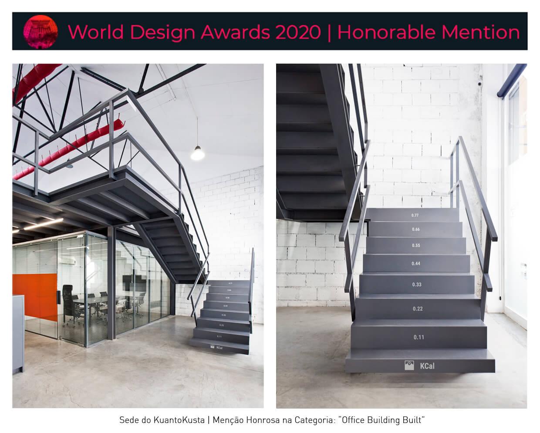 A2OFFICE foi distinguido com Menção Honrosa no World Design Awards 2020