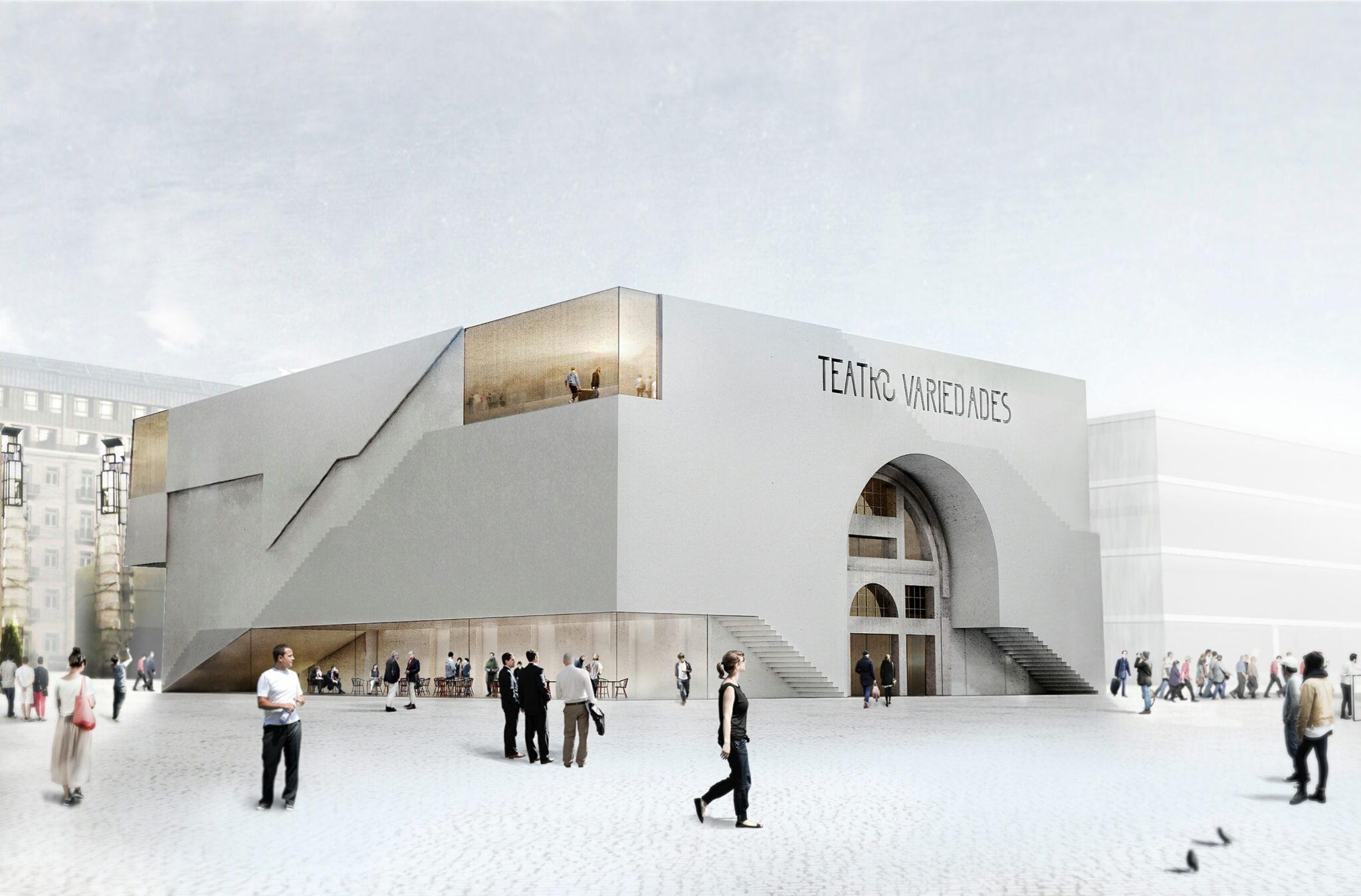 Aires Mateus projeta novo teatro no Parque Mayer