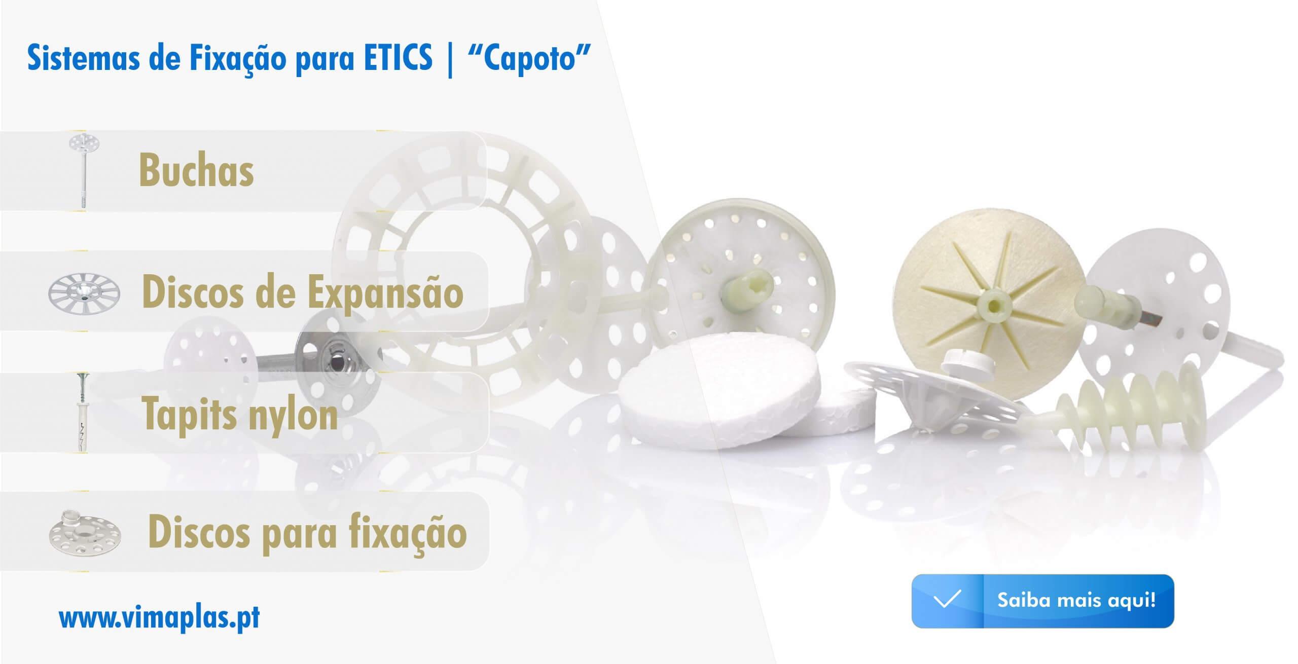 VimaFix Sistemas Fixação ETICS   Capoto