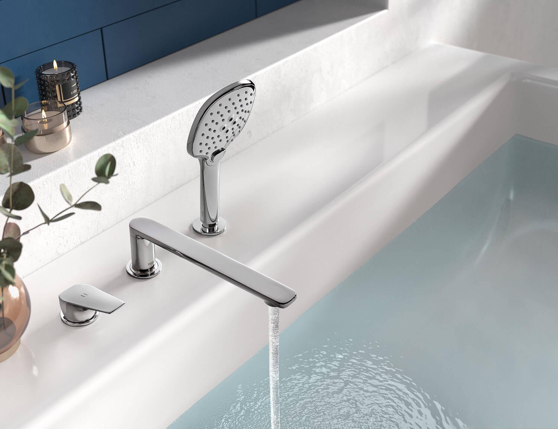 Canigó-tres Plus . Monocomandos para a banheira ou o duche